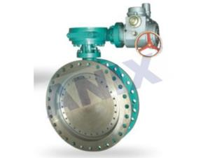 High performance metal seal electric butterfly valve