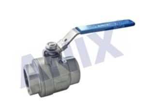Two Piece Fire safe  Female Thread Ball Valve 2000WOG