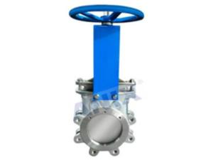 High performance manual knife gate valve