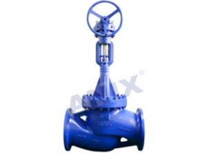 High performance electric bellows globe valve