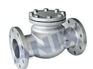 High performance swing check valve