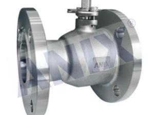Whole Type flanged ball valve