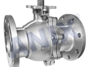 GB high platform flanged ball valve