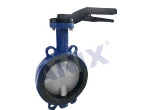 Manual and wafer Type Butterfly Valves with Rubber Lining