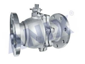 National standard flange ball valve