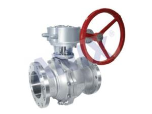 Gear Operated American standard flange ball valve