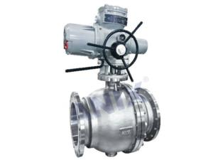 High performance electric ball valve