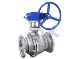Gear Operated Metal Seal Ball Valve