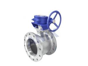 Gear Operated High Performance V Shaped Ball Valve