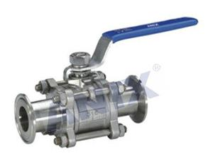 Sanitary  extension Triclamp Ball Valve