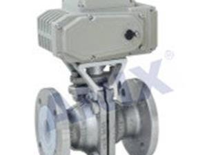 High performance Electric fluorine butterfly valve